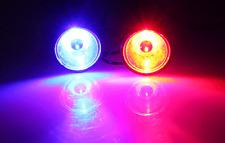 LED Round light RED and Blue Color 12V-48V DC for Motorcycle Warning