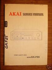 Service Manual Akai GX-F25  Tape Deck,ORIGINAL