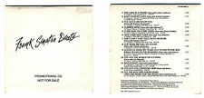 Cd PROMO FRANK SINATRA DUETS Promotional cds singolo single 1993