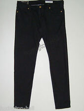 "BEAUTIFUL SASS&BIDE CHARCOAL BLACK CROP SKINNY JEANS 30""LOVESTATE"" Stand&Deliver"