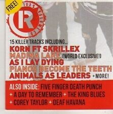 (CN361) 100% Volume, Rocksound CD #155 - Dec 2011 CD