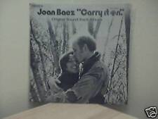 Carry It On - 1971 Joan Baez - Movie Soundtrack LP