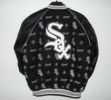 MLB Chicago White Sox Wool Leather Reversible Jacket JH Design  L