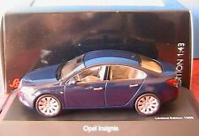 OPEL INSIGNIA SEDAN 2008 BLEU ROYAL SCHUCO 07261 1/43