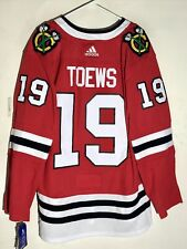adidas Authentic Adizero NHL Jersey Chicago Blackhawks Jonathan Toews Red sz 50