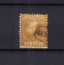 Nederland 12 Willem III 1867  met stempel aangetekend, bijzonder schaars, lees