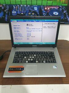"E691 SAMSUNG R519 LAPTOP 15.6"" SCREEN dual CORE 2gb ram teted to bios"