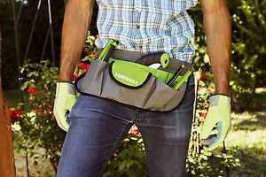 Verdemax 12 Pocket Adjustable Garden Tool Carrier/Belt Great Mothers Day Gift