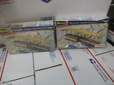 "Lot Of 2 Revell Wright Flyer "" First Powered Flight "" 1:39 Scale New Other"