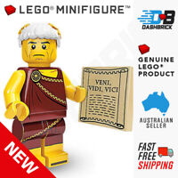 Genuine LEGO Minifigures - Roman Emperor (5 of 16) Series 9 - SEALED PACK