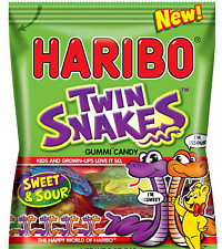 Haribo Twin Snakes Gummies Candy  $4.99  FREE SHIPPING Exp 4/15/2018