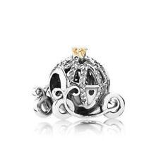 DIY 925 Silver Crystal pumpkin car Charm European Beads Fit Necklace Bracelet  !