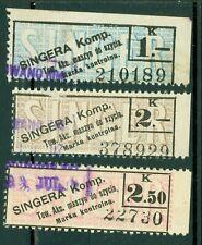 "Poland – Singer Company ""Singera Komp. Tow. Akc. Maszyn do szycia� (3) Revenues"