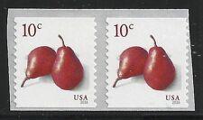 US Scott #5039, PAIR 2016 Red Pear 10c VF MNH