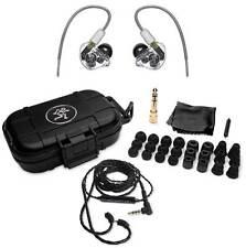 Mackie MP-320 Triple Dynamic Driver Professional In-Ear Monitors+Hard Case