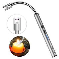 Электрическая зажигалка гибкий USB перезаряжаемый кухни свечи барбекю + светодиодный индикатор