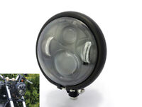 "Motorbike Headlight 5.75"" CREE LED Daymaker for Harley Sportster Dyna Softail"