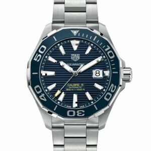 """Tag Heuer"" Men's WAY201B.BA0927 'Aquaracer' Automatic Stainless Steel Watch"