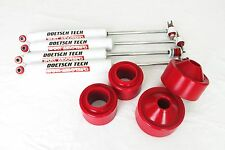 "JEEP WRANGLER JK 2007-2015 3"" POLY SPACER LIFT KIT DOETSCH TECH SHOCKS 4WD USA"