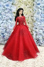 Gown-Outfit-Dress-Fashion-Royalty-Silkstone-Barbie-Model-Doll-FR  BY T.D 8/6/3