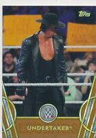 2018 Topps WWE Legends Bronze Undertaker