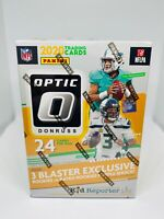 2020 Panini Optic Donruss Football Blaster Box Walmart Purple Shock Brand New
