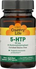 Country Life Pantothenic Acid 1000mg 50 Vegan Capsules