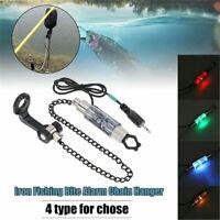 Fishing Rod Mini Chain Hanger Tackle Swinger Carp Bite Indicator Led Light Alarm