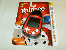 Yahtzee Electronic Carabiner Edition Hand Held Game Hasbro Mini Travel FAST SHIP