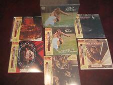 ROD STEWART AN OLD RAINCOAT JAPAN COLLECTORS 1ST EDITION 6 OBI CD RARE BOX SET