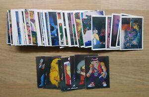 TEENAGE MUTANT NINJA TURTLES - Complete Panini Sticker Set - Exc TMNT 1990