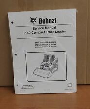 Bobcat T140 Track Loader Service Manual Shop Repair BooK 2 Part # 6904150