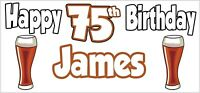 Boxing Glove 6th Birthday Banner x2 Party Decorations Personalised ANY NAME