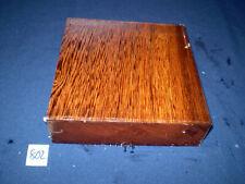 Yaya afrikanisches Hartholz  Drechselholz   200 x 190 x 52 mm   Nr. 802