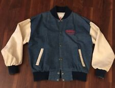 Vintage Gilley's The New Frontier Las Vegas Blue / White Varsity Jacket Men's M