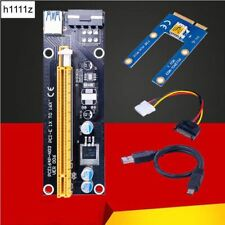 Mini PCIe 1x to PCI Express x16 Riser Card for Laptop External Graphics Card GDC