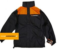 Jacket Orange Arrows Team F1 Formula One 1 NEW Rainjacket Coat Jos Verstappen XL