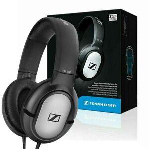 New Sennheiser HD 206 Stereo WIRED Headphones Earphones Headband Over Ear Black