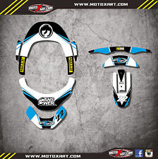 Neck Brace Graphics EURO STYLE Decals / stickers