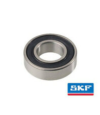 SKF 6201-2RS Deep Groove Ball Bearings, 12 x 32 x 10,  2 Rubber Seals
