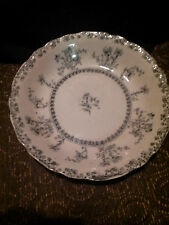 """New Wharf Pottery of  England, Antique Serving Bowl """" Louise Pattern"""" 7 3/4"""""""