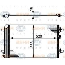 ORIGINAL HELLA Klimaanlage Kondensator Ford Galaxy 8FC351301-524