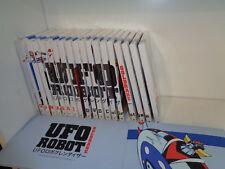 UFO ROBOT GOLDRAKE 1/19-DVD COMPLETA COFANETTO-GO NAGAI-YAMATO-GAZZETTA SPORT