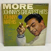 Johnny Mathis – Greatest Hits: Columbia LP 1959 Vinyl Compilation (Pop)