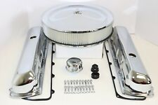 Oldsmobile Chrome Engine Dress Up Kit Tall Valve Covers Air Cleaner 350 400 455