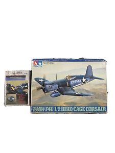 F4U-1/2 BIRD CAGE CORSAIR/ TAMIYA® 1:48 !!! + Detail Set 4070