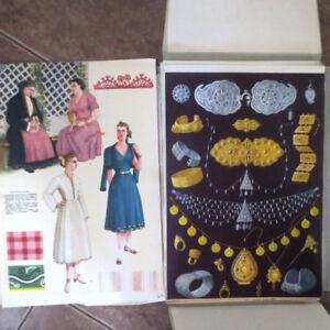 1959 Български Народни Носии BULGARIAN FOLK COSTUMES Болгарские народные костюмы