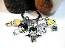 New! Japanese Anime Death Note DN Keyring Key Ring/Chain Pendant Manga Cosplay