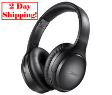 Active Noise Cancelling Headphones Boltune Bluetooth 5.0 Over Ear Wireless He...