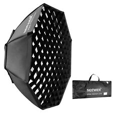 "NEEWER portable OCTAGON softbox w/ grid Bowens Mount 95cm / 37"" beehive EM#01"